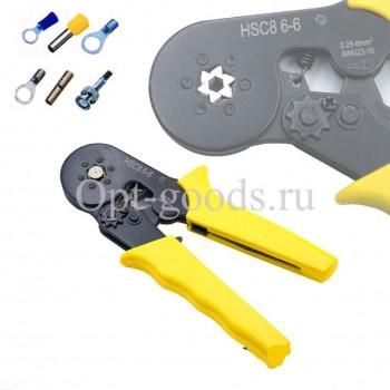 Клещи для обжима проводов 0.25-6 мм оптом OM-E153