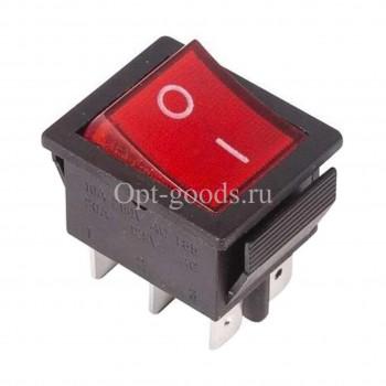 Выключатель клавишный широкий оптом OM-E86