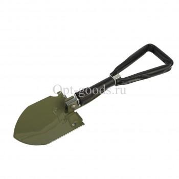 Лопата складная с мотыгой 62 см оптом OM-X52