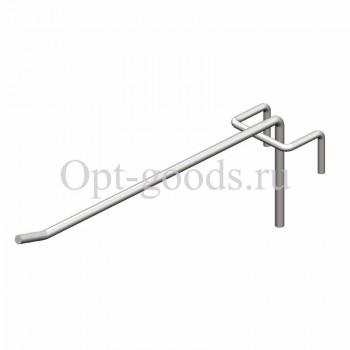 Крючок торговый для перфорации d-4 мм 15 см оптом OM-X588