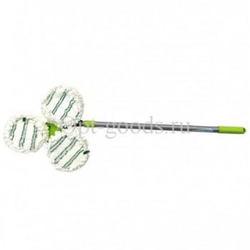 Швабра с насадкой микрофибра телескопическая ручка оптом SM-X1727