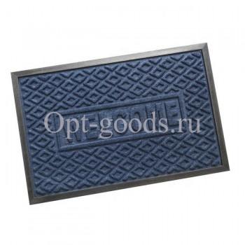 Коврик придверный резиновый 90х60 см SM-X1739
