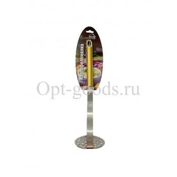 Картофелемялка с металлической ручкой 24 см оптом SM-X900