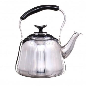 Заварочный чайник металлический 2 л оптом OM-X489