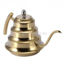 Заварочный чайник металлический 1,2 л оптом SM-X1934