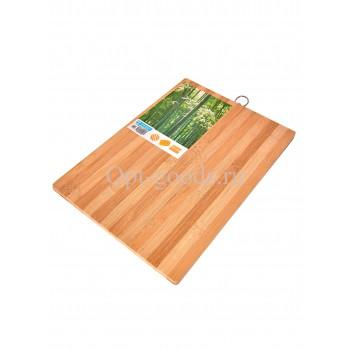 Разделочная доска бамбуковая 36х26 см оптом SM-X451
