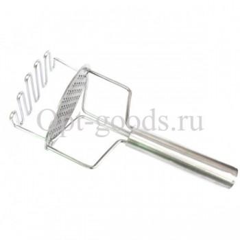 Картофелемялка с металлической ручкой 24 см оптом SM-X1789