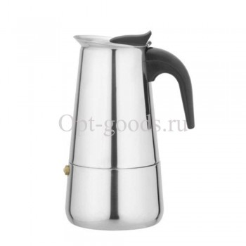 Гейзерная кофеварка 4 чашки оптом OM-X485