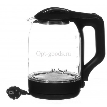Чайник электрический стеклянный 2 л оптом OM-E169
