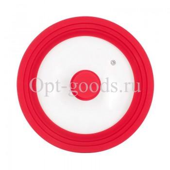 Крышка универсальная с силиконовым ободком 24-26-28 см оптом OM-X509