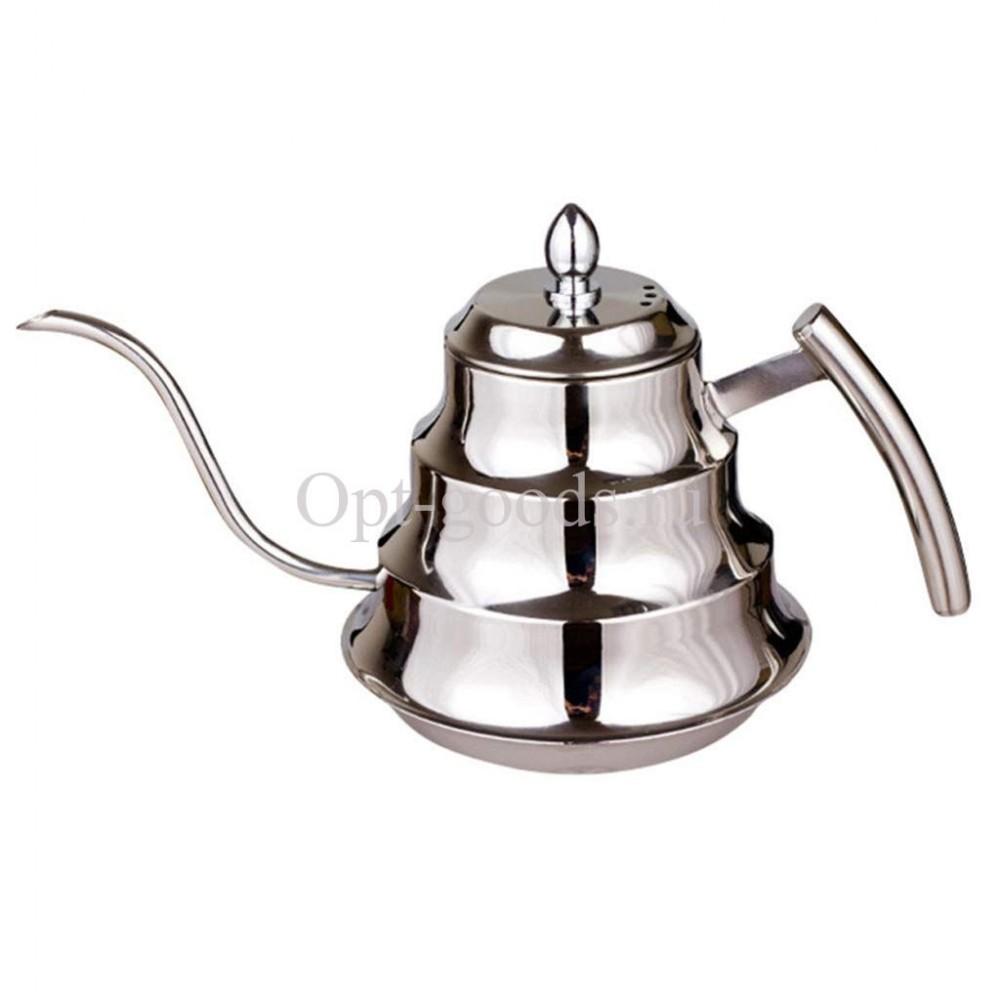 Заварочный чайник металлический 1,2 л оптом SM-X1935