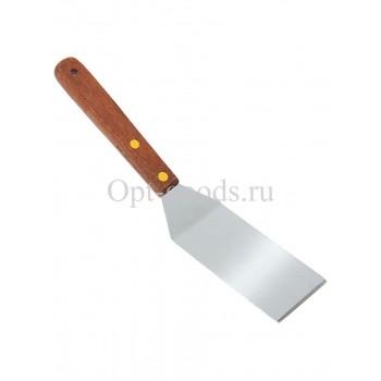 Лопатка с деревянной ручкой 20 см оптом SM-X1508