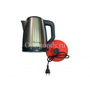 Чайник электрический металлический 2 л оптом SM-X1095