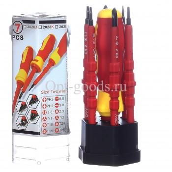 Набор отверток для электрика 7 предметов оптом OM-X432
