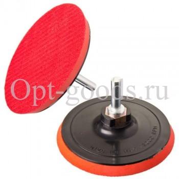 Шлиф круг резиновый 125 мм оптом OM-X233