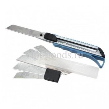 Строительный нож со сменными лезвиями 18 мм оптом SM-X1631